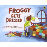 Froggy Gets Dressed - cover image