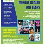 Teen Mental Health Program – October 26th – San Francisco Library
